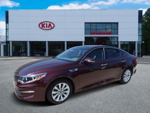 Pre-Owned 2016 Kia Optima EX With Navigation